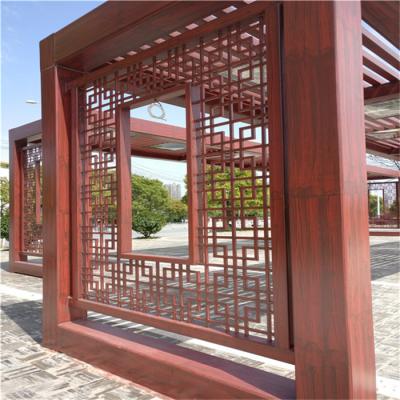 新型环保铝方管焊接铝窗花