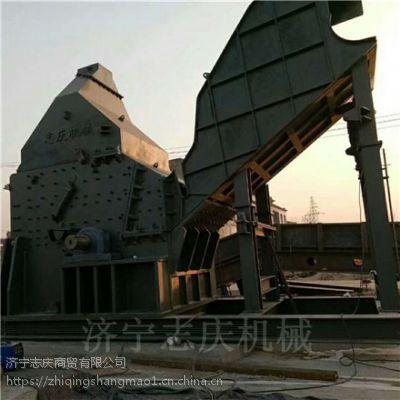 志庆 630型锤式易拉罐破碎机山东生产线
