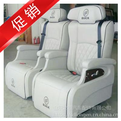 别克GL8奔驰威霆V260改装豪华航空座椅柚木实木地板厂家星空顶休息脚踏手动改电动配件龙恩寿光