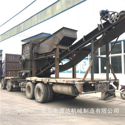 移动破碎站妥善解决建筑废物处理后的用途问题dlhygf1
