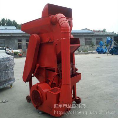 双辊大型油坊剥壳机 优质低破碎脱壳机 圣鲁花生机械