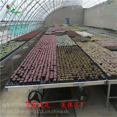 昆山花卉移动苗床网-苗床网制造商-工厂化苗床
