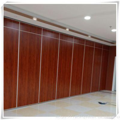 广州多功能会议室65型三聚氰胺板活动隔断源头工厂直销