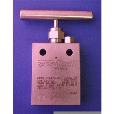 BuTech 针型阀 CPM-AN-12M-T-316-H-PM