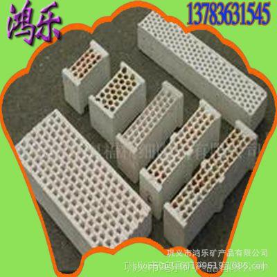 隧道窑窑口用挡板砖 高炉内墙用圆孔状挡火砖 熔铝炉用挡板砖