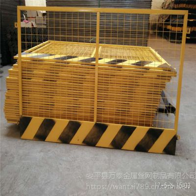 黄色基坑隔离网 现货护栏网 优质防护网厂家