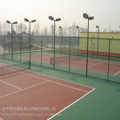 篮球场隔离铁丝网 公园金属围墙 工地隔离护栏定制