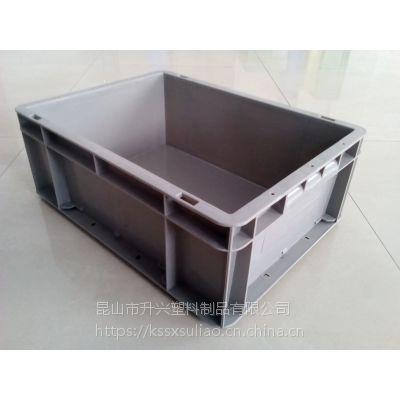 供应塑料周转箱EU4315 400-300-148 加厚款B箱