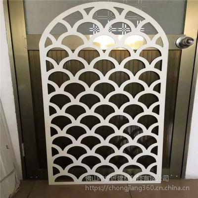 遂宁型材铝窗花装潢厂家直销 隔断铝窗花装饰