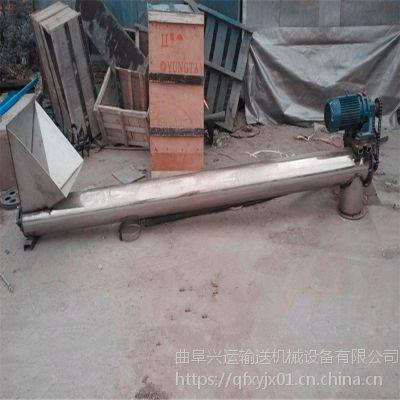 广东省增城市 面包渣输送用不锈钢板材108mm绞龙上料机
