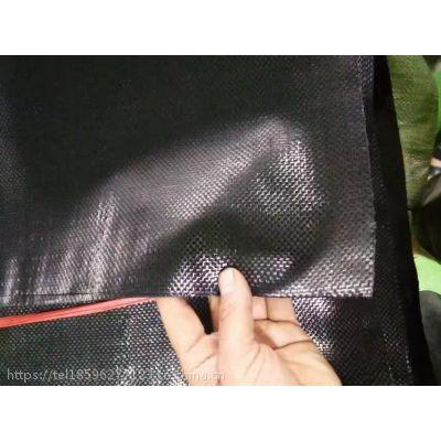 黑色抗老化编织袋/抗紫外线生态袋