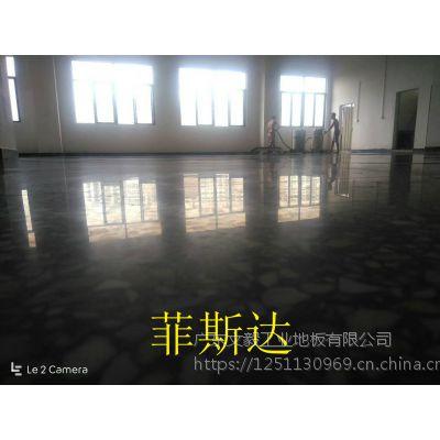 常平水磨石固化地坪——东莞、常平厂房地面打蜡处理、效果看的见