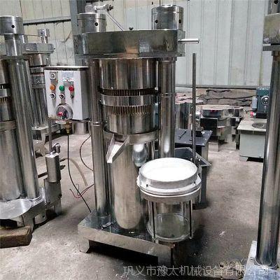 年底热销移动式全自动香油机 液压榨油机 高出油率芝麻香油机豫太厂家