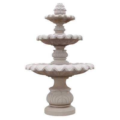 工厂直销室外景区小区公园大型花岗岩喷泉定制款式石雕流水景观喷泉水钵厂家