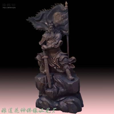 莲花供应玻璃钢佛像 1.3米九龙关公佛像 九龙关公神像 雕像