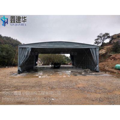 合肥庐阳区加工伸缩式雨棚布_物流园储物雨蓬使用起来方便