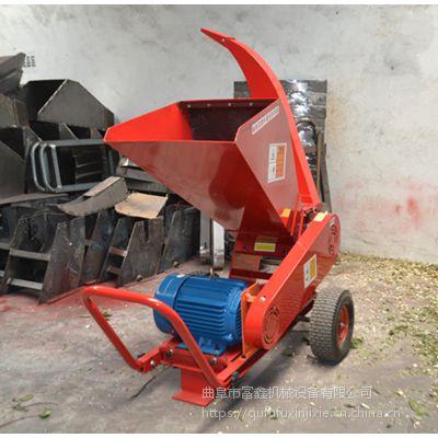 移动式碎枝机 林业粉碎机 树枝粉碎机型号