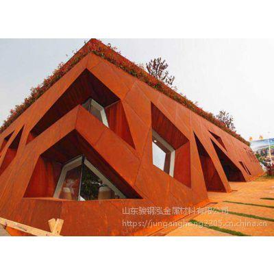 锈红色耐候板雕塑加工厂家【聊城Q235NH铁艺工匠铺】