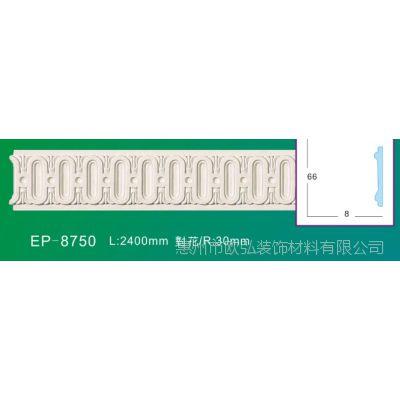 厂家批发聚氨酯装饰线条雕花平线 电视背景墙线条门框线罗马柱