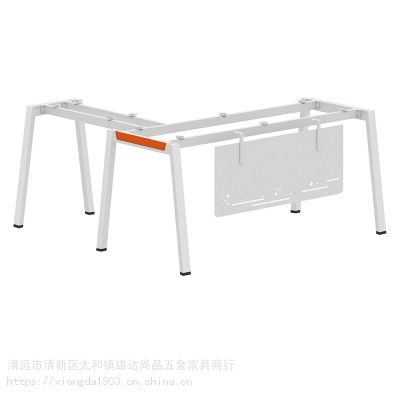 广东办公家具五金 订制大班台钢架 主管桌架 定做老板台钢架 条桌生产厂家