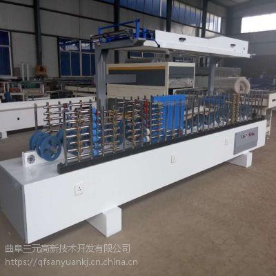 木工机械 曲阜三元300型铝合金型材包覆机
