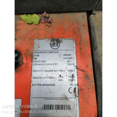 青岛二手叉车租赁 出租丰田瑞典进口2吨RRE200坐驾前移式叉车