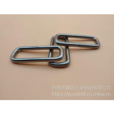 四方扣 304不锈钢无镍箱包挂扣 耐热耐用