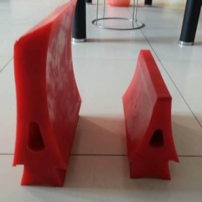 聚氨酯PU分煤器型号尺寸 聚氨酯PU空段刮板 聚氨酯清扫器刀头