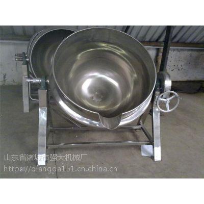 烤鸭店用夹层锅 卤制品用夹层锅 电加热导热油锅