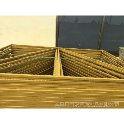 米字型爬架网片-提升架冲孔板爬架网-环保喷塑外围网