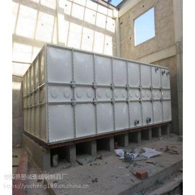 互助镇组合式玻璃钢保温水箱 玻璃钢消防水箱自动化机械生产