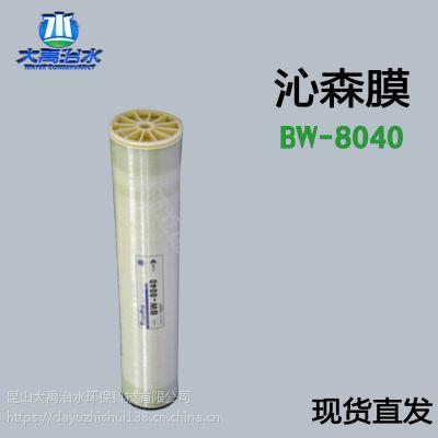 BW-8040国产沁森膜反渗透膜苦咸水工业膜元件国产8寸高压RO膜厂家直销