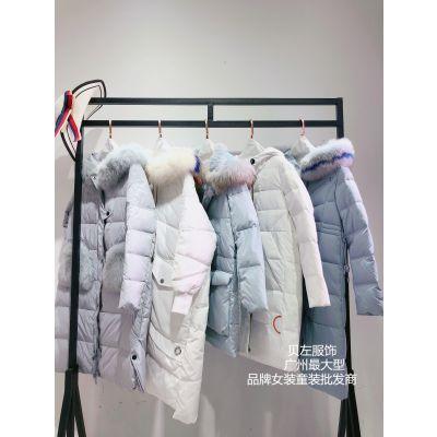 杭州一线大牌索娜菲19年冬装品牌折扣 专柜正品库存尾货折扣批发一手货源