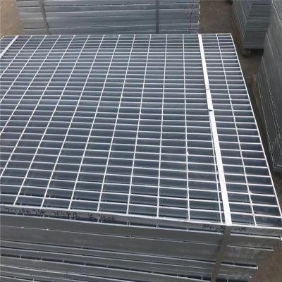 钢格板生产商 热浸钢格板 镀锌水沟盖板
