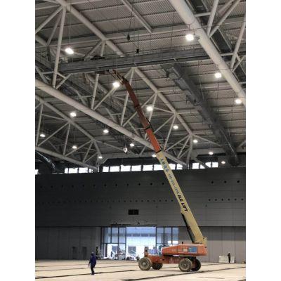 广州从化出租41米柴油直臂高空车