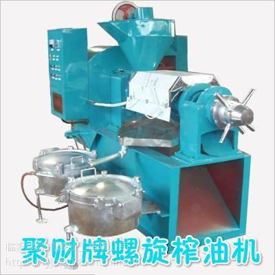 重庆批发新型花生榨油机;冷热两用螺旋一体机榨油设备多钱