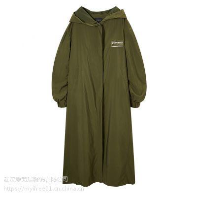 走份韩版女装莎尔依19年春装新款风衣外套