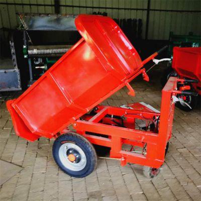 运输沙子水泥手推翻斗车建筑混凝土搬运车工程用三轮车卡博恩供应