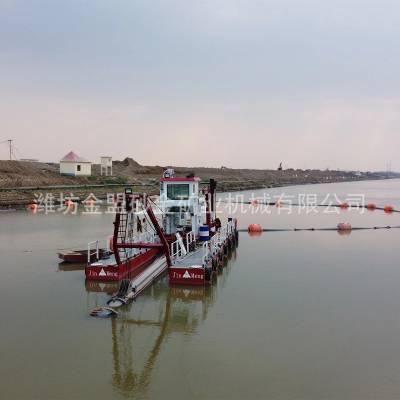 广东制造大型清淤船的公司 广东哪里能买到河道清淤船