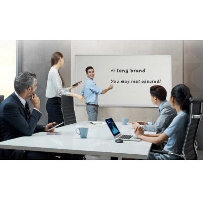日通磁性办公写字板 磁性推拉黑板教学绿板定制直销
