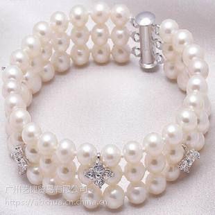 提供珍珠散件工艺品外发加工