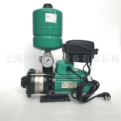 德国威乐水泵MHIL404半不锈钢变频恒压泵
