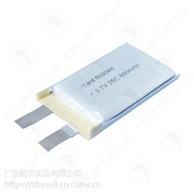 603048 600mAh 25C高倍率聚合物锂电芯