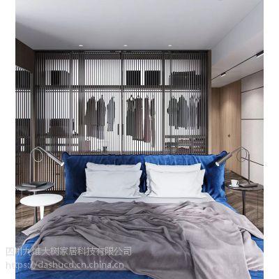 小户型卧室衣柜怎么设计?这里有你想要的-大树装饰