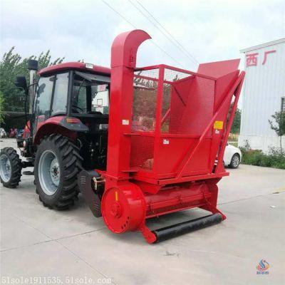 青储黑麦草收割机  饲料象草收割机热销  采购牧草回收机