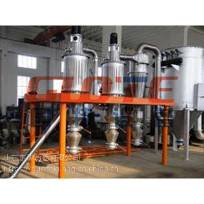 国特多级气流分级机有效分散与分级