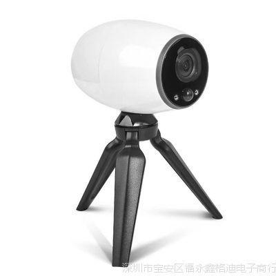 外贸热销云存储电池无线高清可充电摄像头 便携式夜视监控摄像机