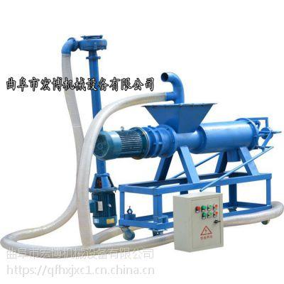 粪便脱水机 供应斜筛式固液分离机 螺旋挤压牛粪干湿分离机