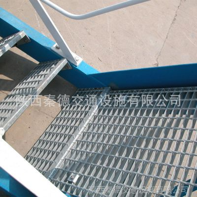 汉中镀锌钢格栅板|电厂化工厂平台盘梯踏步板镀锌网格板厂家