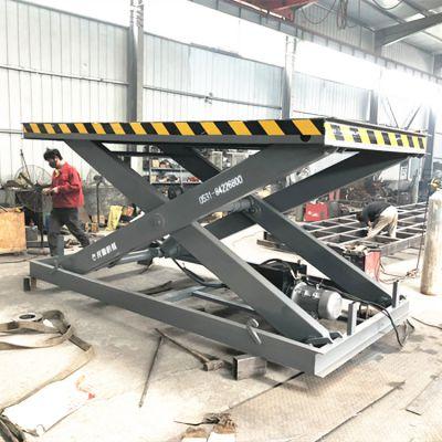 厂家定做猪场用升降机 固定式卸猪台 装猪用电动升降平台